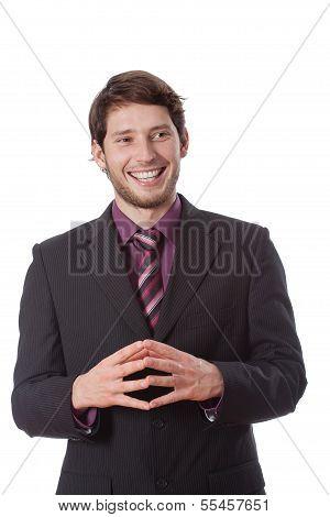 Potrait Of Businessman