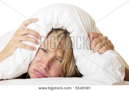 Woman Trying To Sleep