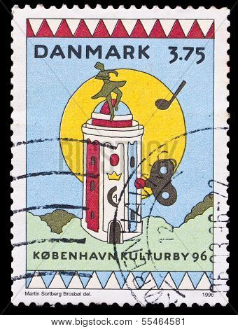 Denmark Stamp, European Cultural Capital