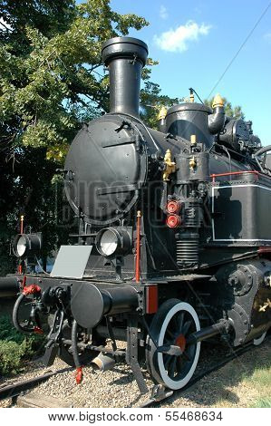 An old steem locomotive