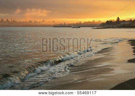 Jericho Beach Dawn, Vancouver