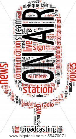 Radio mic tagcloud