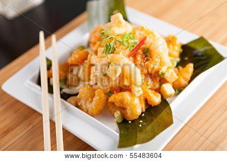 Popular Thai Shrimp Dish