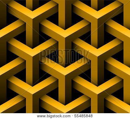 3D Construction Seamless Pattern