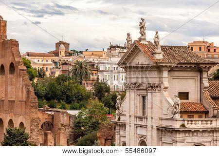 Church Of Santa Francesca Romana, Rome Italy