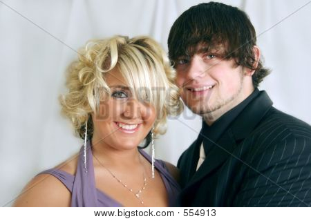 Young Couple In Formalwear
