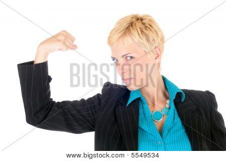 Dynamic Business Woman