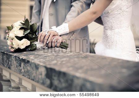 Wedding Hands Old