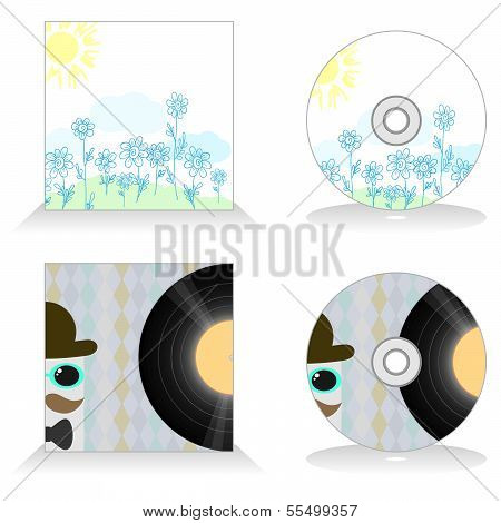 Template Of Cd Design