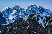 foto of denali national park  - Outhouse Perched Precariously on Top of the World - JPG
