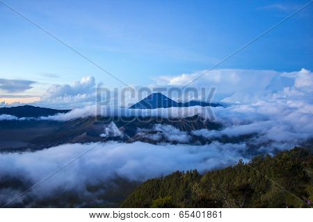 Bromo Mountain In Tengger Semeru National Park
