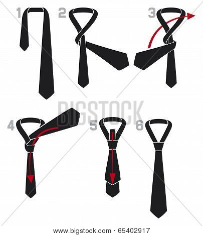 tie and knot instructions