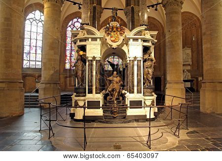 William Of Orange - Tomb In Church At Delft,  Netherlands