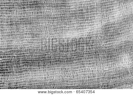 Abstract Texture Of A Gauze