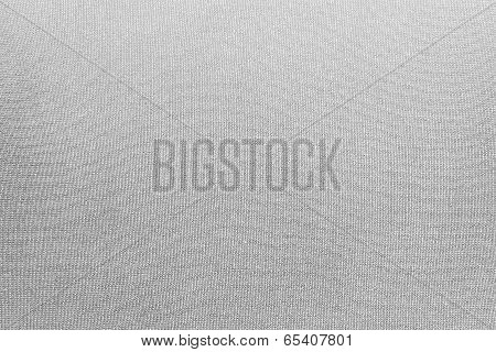 White Background Of Synthetic Fabric