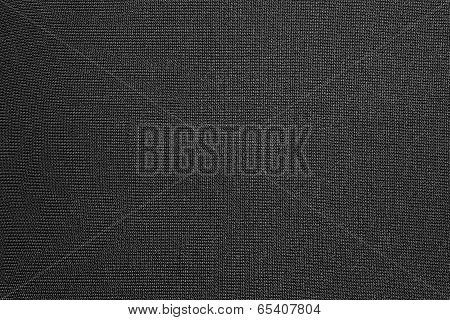 Black Background Of Synthetic Fabric