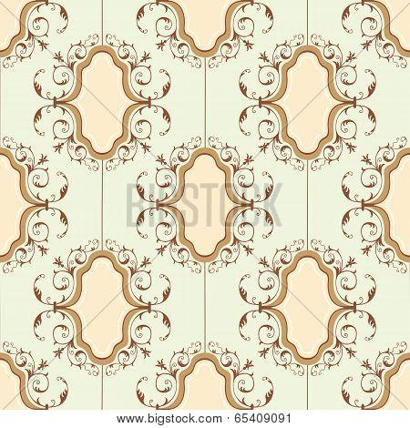 Seamless medallion pattern