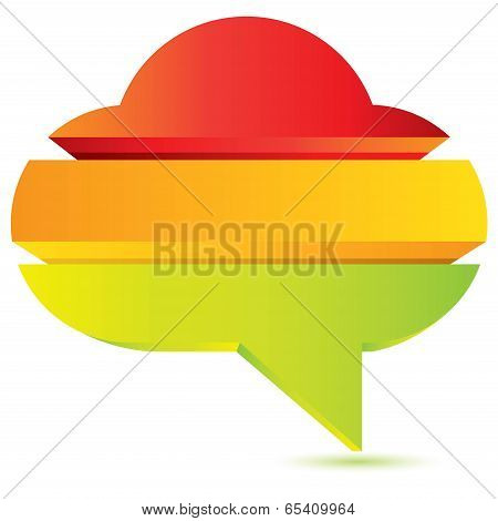 colorful cloud diagram