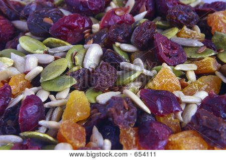 Mixed Dried Fruit And Seeds