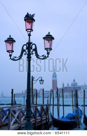 Venice street lamp