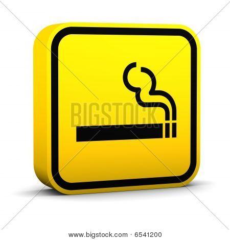 Sinal de fumaça de área
