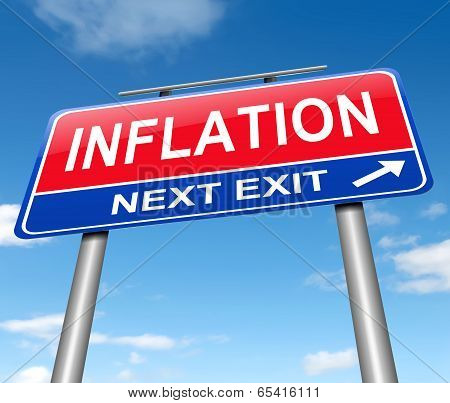 Inflation Concept.