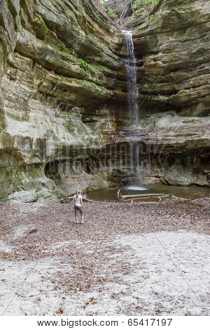 St. Louis Canyon Waterfall