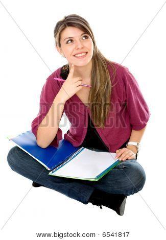 Beautiful Female Student