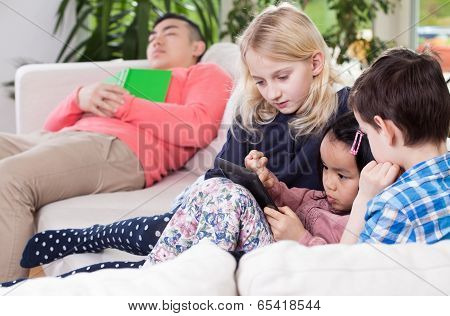 Diversity Family During Free Time