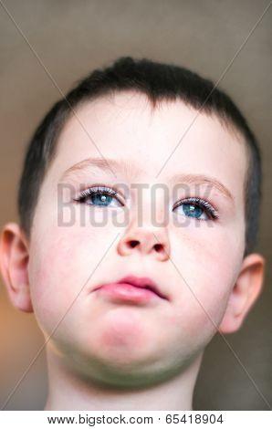 Little Boy Nervous