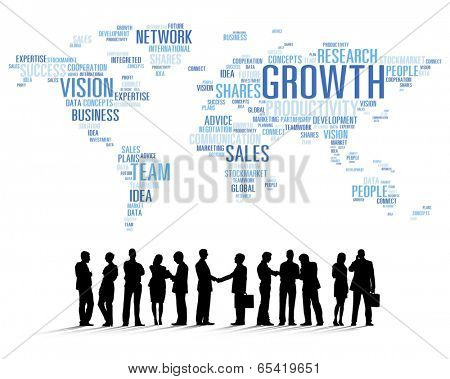 Vector of Business People Teamwork