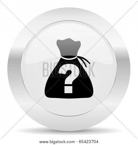 riddle silver glossy web icon