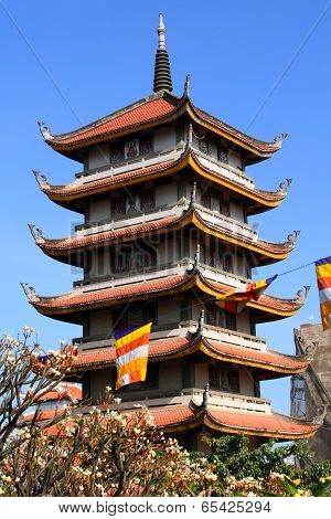 Buddhist Pagoda Vinh Nghiem In Ho Chi Minh City (saigon), Vietnam