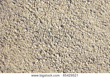 Texture Of Limestone Rubble