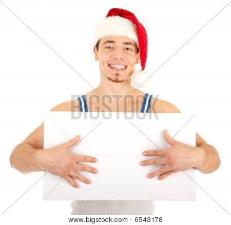 Handsome Man Has A Present For You