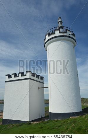 Lighthouse at Elie