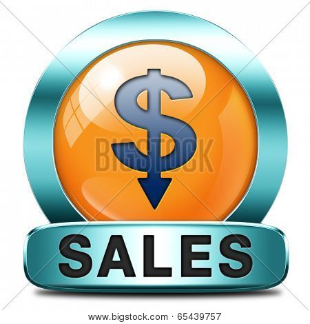 sales icon online shopping concept with discount web shop bargain cheap order at webshop sale icon