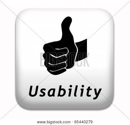 usability user friendly design and ergonomic internet or website