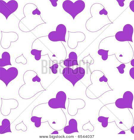 Heart Purple Pattern.eps