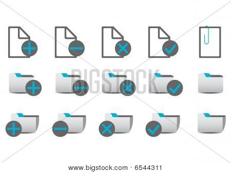 Database Managment Icons