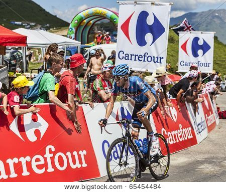 The Cyclist Ryder Hesjedal