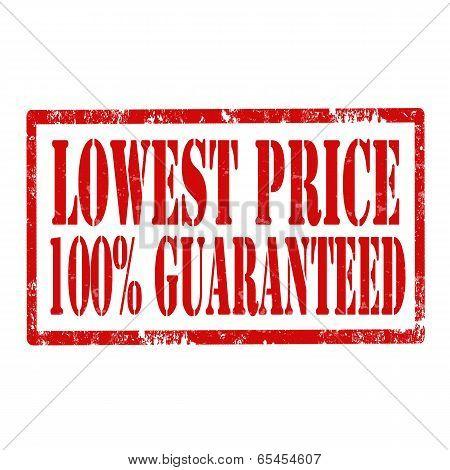 Lowest Price -stamp