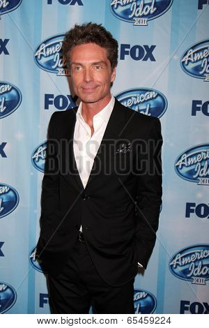LOS ANGELES - MAY 21:  Richard Marx at the American Idol Season 13 Finale at Nokia Theater at LA Live on May 21, 2014 in Los Angeles, CA