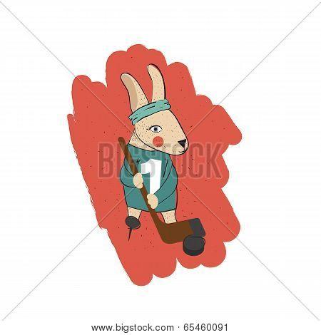 Bunny Skating