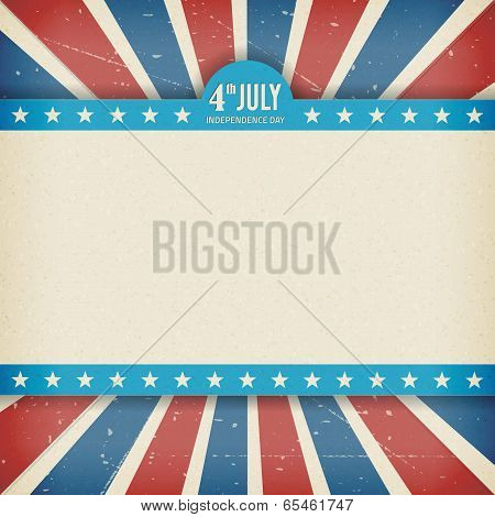 Vector Independence 4Th July American Day Poster