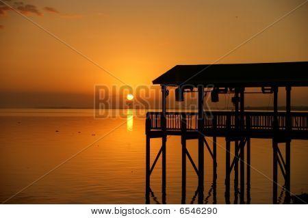 Boathouse Sunrise