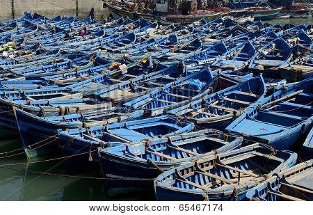 Blue Boats Essaouira