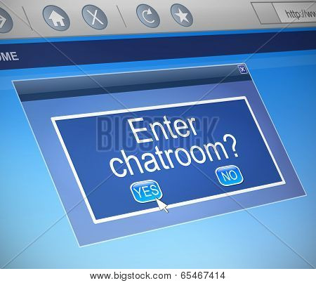 Chatroom Concept.