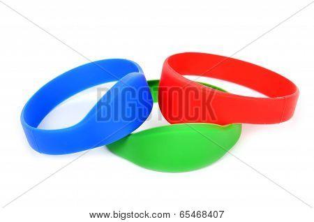 Three Color Rfid Bracelet