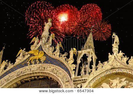 New Year At Saint Mark's